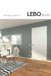 Die LEBO-Türenkollektion 2018