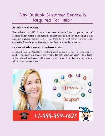Why Outlook Customer Service Is Required For Help