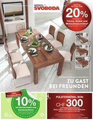 Zu Gasten bei Freunden / Tische, Stühle und Wohnzimmermöbel