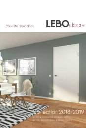 The LEBO-Doorcollection 2018/2019