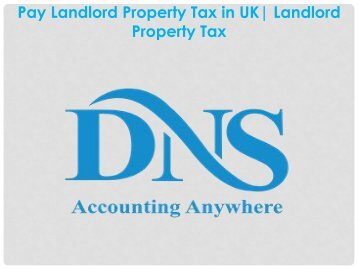 Pay Landlord Property Tax in UK| Landlord Property Tax