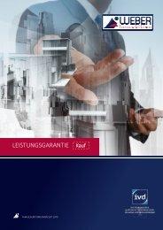 WEBER Immobilien | Leistungsgarantie - Immobilienverkauf