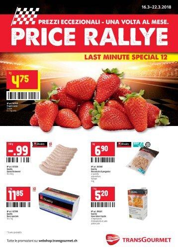 Price Rallye Last Minute 12