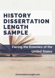 History Dissertation Length Sample