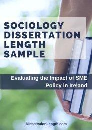 Sociology Dissertation Length Sample