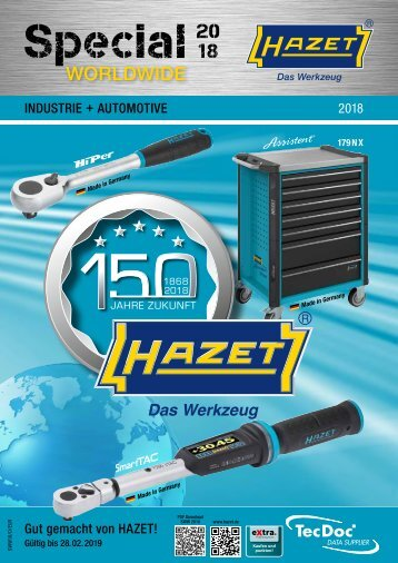Hazet Special Worldwide 2018