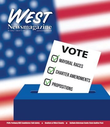 West Newsmagazine 3-14-18