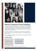 OUP Women Composers Choral Catalogue - Page 2