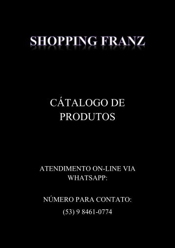 SHOPPING FRANZ CATALOGO PRONTO PDF