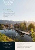 Sommerfolder 2018 Natur- und Wellnesshotel Höflehner****S - Seite 6
