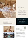 Sommerfolder 2018 Natur- und Wellnesshotel Höflehner****S - Seite 7