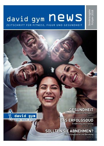 david gym Zürich - news