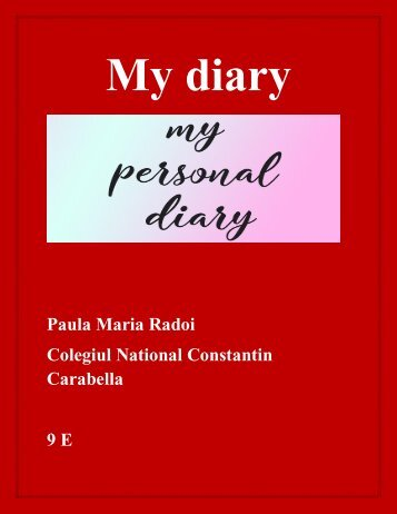 My diary (44)
