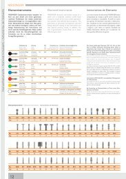 MEISINGER diamond instruments - NEW LINE