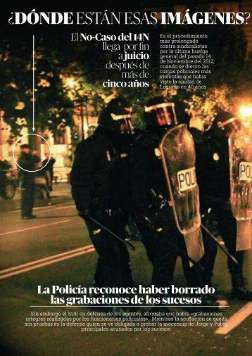 EL NoCaso de 14N. Dossier-prensa