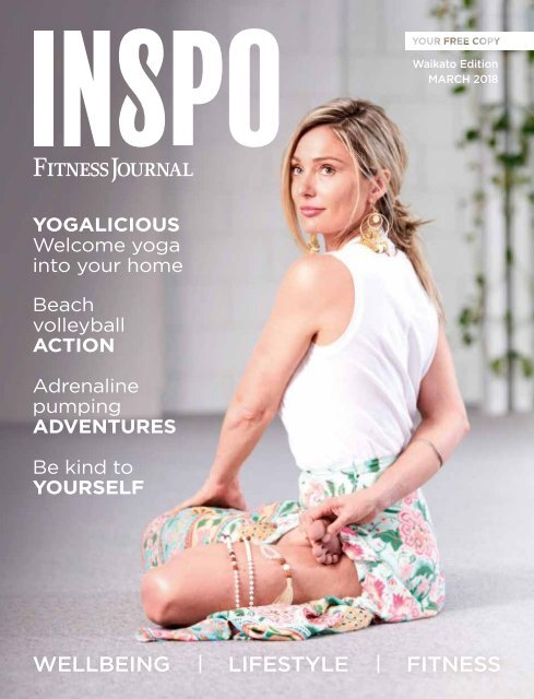 INSPO Fitness Journal March 2018