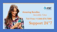 AT&T Mail Tech Support Number PPT