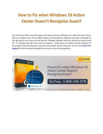 fix-windows-10-action-center-doesn't-recognize-avast