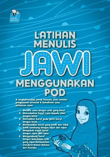 Latihan Menulis Jawi Menggunakan POD