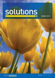 Solutions Magazine - March 2018