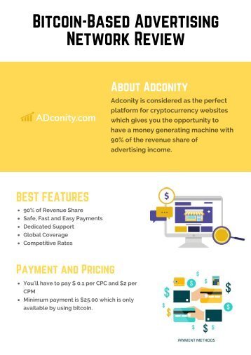 Blockchain Advertising by Adconity