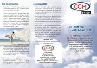 Die Kraft von Licht & Sauerstoff - CCM GmbH - Creative Chemical ...