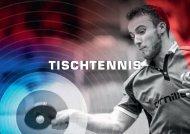 Tischtennistisch Katalog 2018