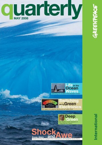 Ocean Waves Switching Electronics Deep Green ... - Greenpeace