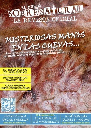 El Mundo Sobrenatural Marzo 2018 - Misteriosas Manos en las Cuevas