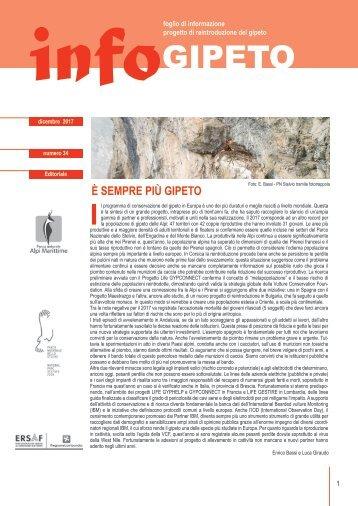 infoGIPETO n.34 | dicembre 2017