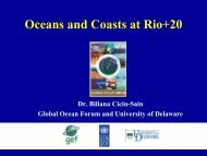 Oceans and Coasts at Rio+20 - Stakeholder Forum