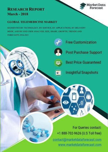 Telemedicine Market Research Report 2016-2021