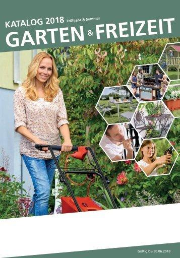 Bauvista Garten & Freizeit Katalog 2018