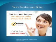 How to install norton setup with product key