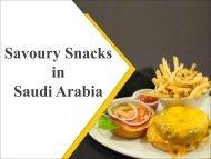 Savoury Snacks in Saudi Arabia