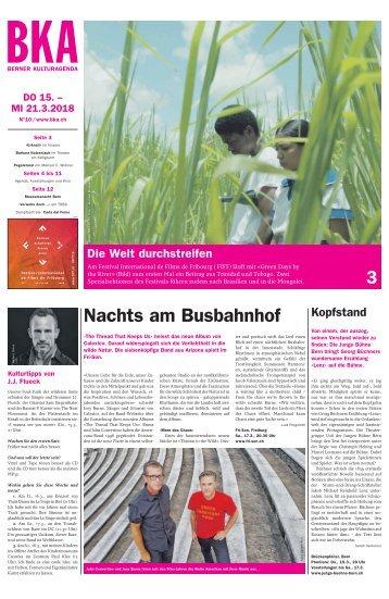 Berner Kulturagenda 2018 N°10