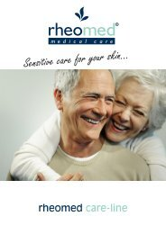 Rheomed care-line - CCM GmbH - Creative Chemical Manufacturers