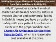 Medical Emergency Charter Air Ambulance Services from Patna and Ranchi by Hifly ICU - Page 2