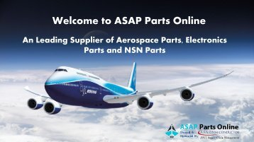 ASAP Parts Online- Aviation Electronics Components Distributor
