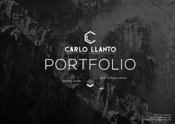Carlo Llanto - Artfolio 2017 1st ed