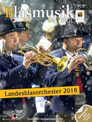 Blasmusik in Tirol - 1 / 2018