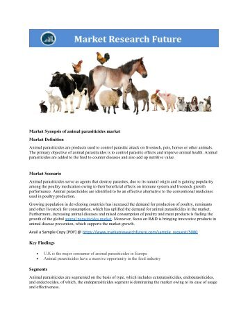 animal parasiticides market research report