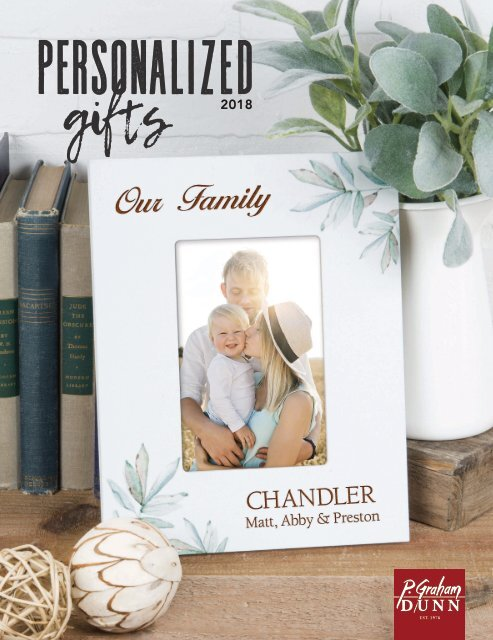 Personalized Gifts Catalog 2018