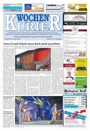 Wochen-Kurier 11/2018 - Lokalzeitung für Weiterstadt und Büttelborn