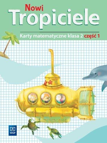 Nowi tropiciele klasa 2 - Karty matematyczne