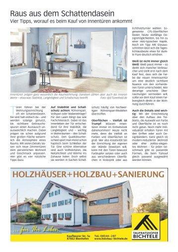 Faszination Eigenheim Marktoberdorf