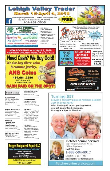 Lehigh Valley Trader March 15-April 4, 2018 issue