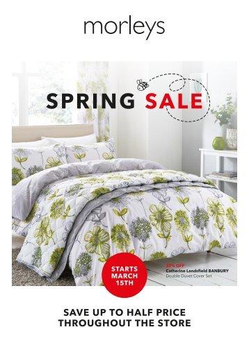 Morleys Spring Sale 2018