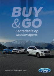 Ford Buy and Go - Maart