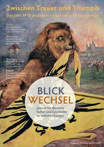 BLICKWECHSEL 2018